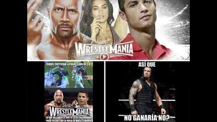 Cristiano Ronaldo y La Roca protagonizan memes por el amor de Irina Shayk