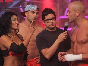 Combate: Bruno Agostini le faltó el respeto a Michelle Soifer
