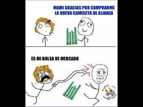 5edb7fc5b0dc4 Alianza Lima  Salieron los memes de su camiseta alterna verde