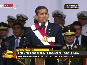 Humala: Perú y Chile dieron un ejemplo al mundo de madurez