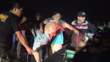 Chimbote: mototaxista fue atacado a machetazos por asaltantes