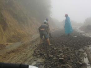 Cusco: paso restringido en la vía interoceánica por derrumbes