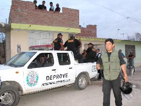 Arequipa: intervienen fábrica donde elaboraban tubos bamba