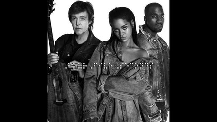 Grammy: Rihanna actuará junto a Paul McCartney y Kanye West