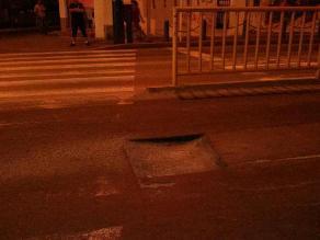 Barranco: No reparan pista en avenida Bolognesi