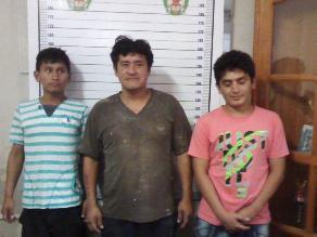 Chanchamayo: policía captura a integrantes de la banda ´Los Chafles´