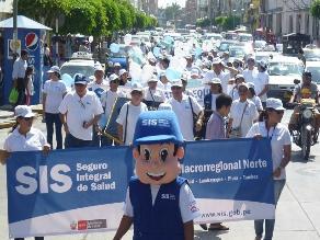 Chiclayo: SIS promete mejorar la cobertura y calidad de atención