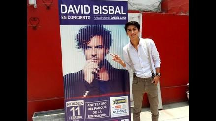 Daniel Lazo: Me cuesta creer que abriré el concierto de David Bisbal