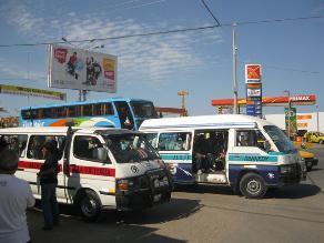Transportistas en contra de ampliación del anillo vial de Chiclayo