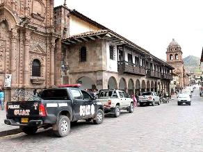 Chilenos detenidos por sustraer joyas y artesanías en Cusco