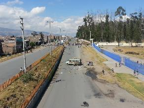 Junín: el tránsito se mantiene restringido en la Carretera Central