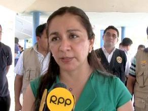 Piura: Marisol Espinoza mostró su indignación por reglajes