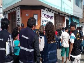 Chiclayo: intervienen local de venta de gas por falta de documentación