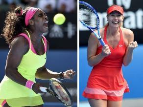 Abierto de Australia: Serena Williams y Sharapova finalistas en Melbourne