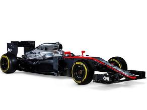 McLaren presentó el MP4-30, el nuevo auto de Fernando Alonso para el 2015