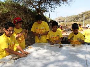 Trujillo: más de 300 escolares aprenden sobre Chan Chan