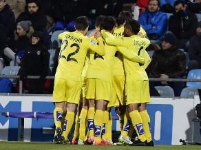 Copa del Rey: Villarreal supera 1-0 a Getafe y enfrentará a Barcelona