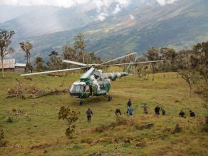 Cajamarca: violencia contra helicóptero fue por proyecto Conga