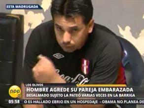 Los Olivos: detienen a sospechoso de agredir a su conviviente embarazada
