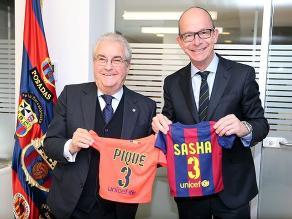 Shakira y Piqué: Sasha, su segundo hijo, ya es socio del Barcelona