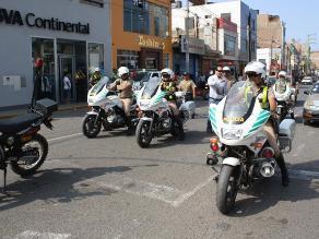 Huaral: intervienen 100 vehículos en operativo de tránsito