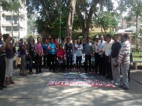 Piura: docentes interinos acatan huelga por cuarto día consecutivo