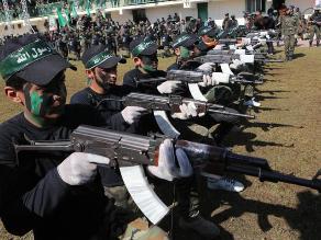 Hamás entrena a 17.000 adolescentes de Gaza en actividades paramilitares