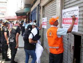 Trujillo: clausuran seis bares en el mercado La Hermelinda