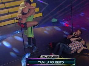 Combate: Yamila y Erito se reconciliaron de forma romántica