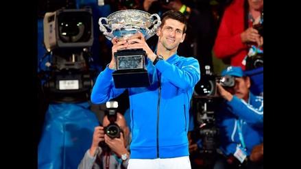 Novak Djokovic derrotó a Murray y conquistó el Abierto de Australia