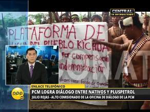 Comisión de Alto Nivel llega a acuerdos con comunidades nativas de Loreto