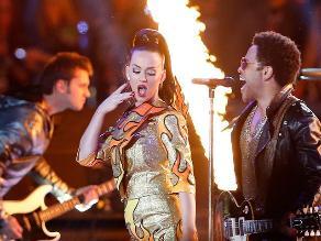 Super Bowl: Katy Perry y Lenny Kravitz hicieron explotar el Half Time