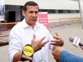 Puno: presidente Ollanta Humala hizo entrega de diploma por la Candelaria