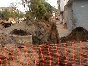 Jauja: autoridades intervienen obra de agua potable en Leonor Ordoñez