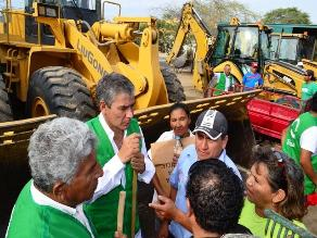 Piura: recogen 800 toneladas de basura en Veintiséis de Octubre