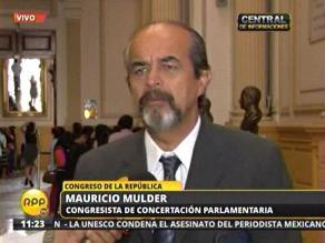 Mauricio Mulder: Gabinete que se ha dedicado a tirar pura basura