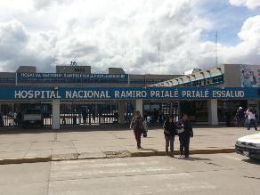 Huancayo: asegurados de EsSalud expresaron su malestar por caída de sistema