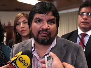 Arbizu: Sería bueno que Heredia se ponga a disposición de la Fiscalía