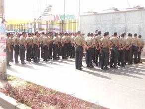 Puno: seis policías detenidos por tráfico ilícito de drogas