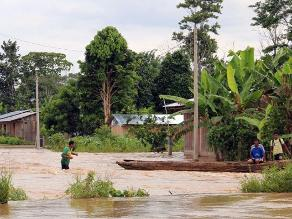 Bagua: desborde de los ríos Utcubamba y Marañón afectan sembríos