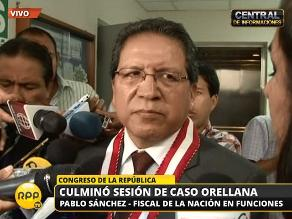 Fiscal Pablo Sánchez niega complot contra Ramos Heredia