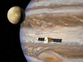 NASA pretende realizar misión hacia Europa, una luna de Júpiter