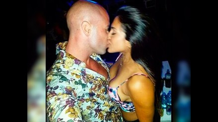 Vania Bludau y Bruno Agostini se lucen enamorados