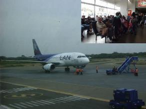Chiclayo: avión no pudo aterrizar y pasajeros quedaron varados