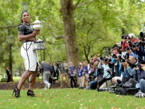 Serena Williams y su infartante look tras ganar el Abierto de Australia