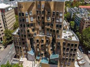 Construyen un edificio ondulante en Sídney