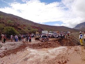 Puno: distritos de Sandia desabastecidos de alimentos por derrumbes