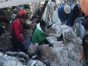 Sube a 4 el número de muertos por explosión en hospital infantil de México