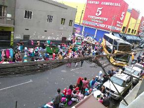 Comercio ambulatorio toma nuevamente las calles de Lima