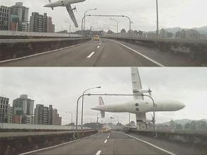 Un milagro en medio de la tragedia aérea en Taiwán